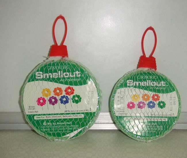 Air Fresheners - Jasmine - Round Hanging - 90gms and 60gms